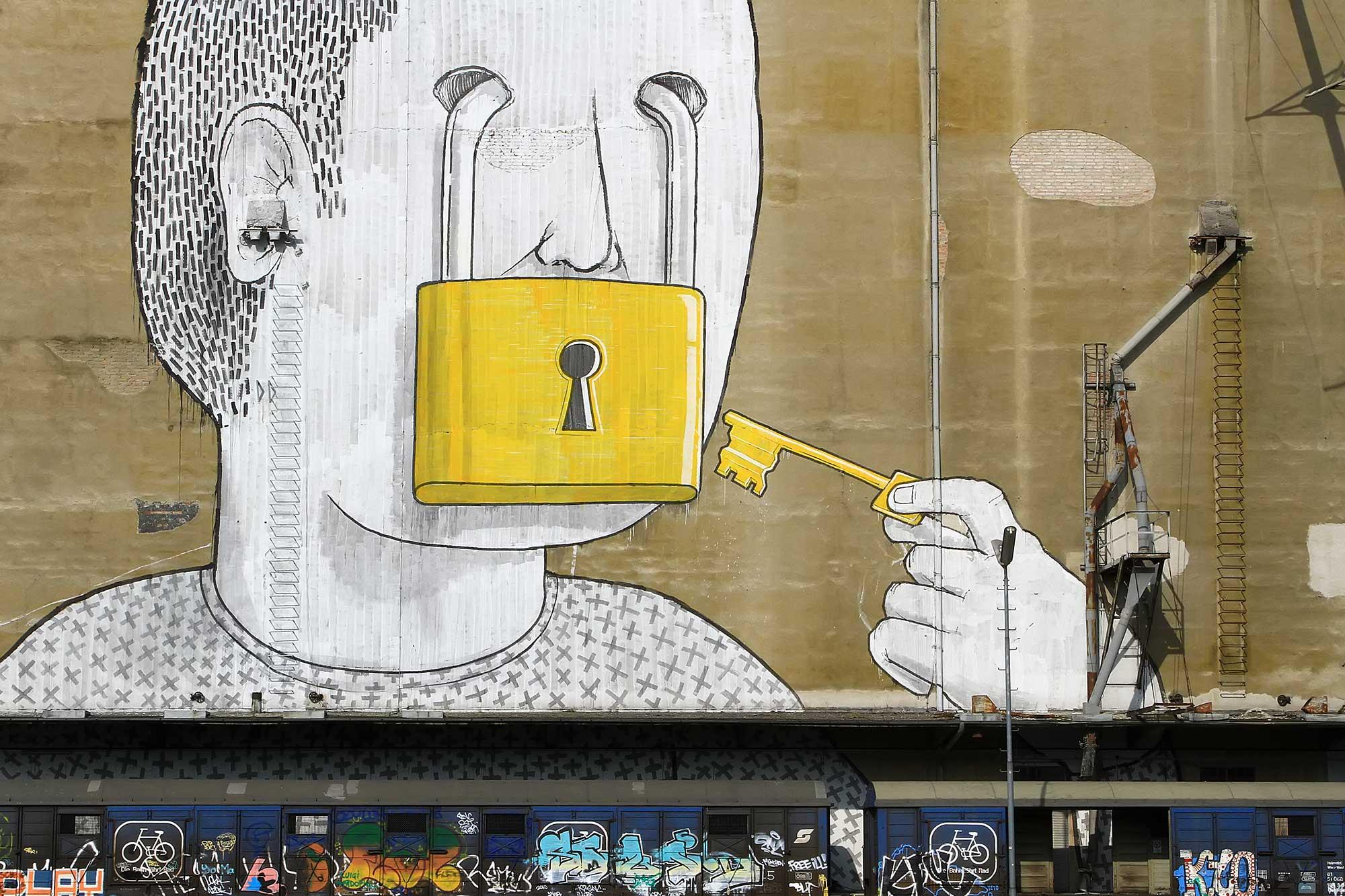 Graffiti in Vienna. © Ulli Maier & Nisa Maier