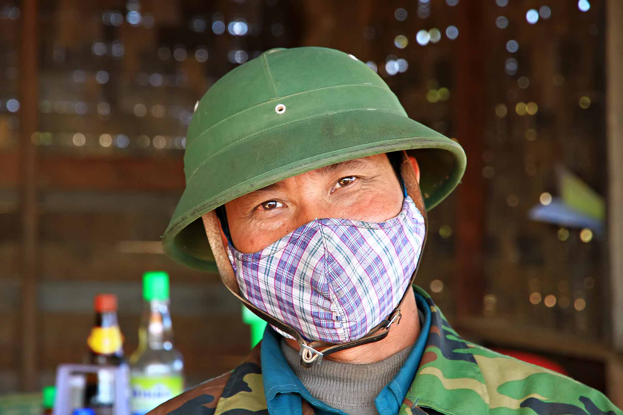 portrait-man-with-mask-laos