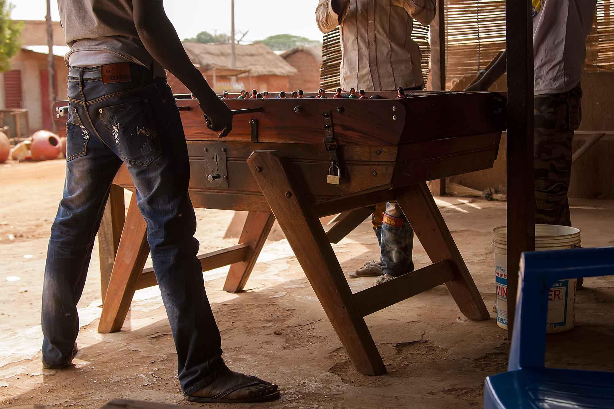 table-soccer-banfora-burkina-faso-africa