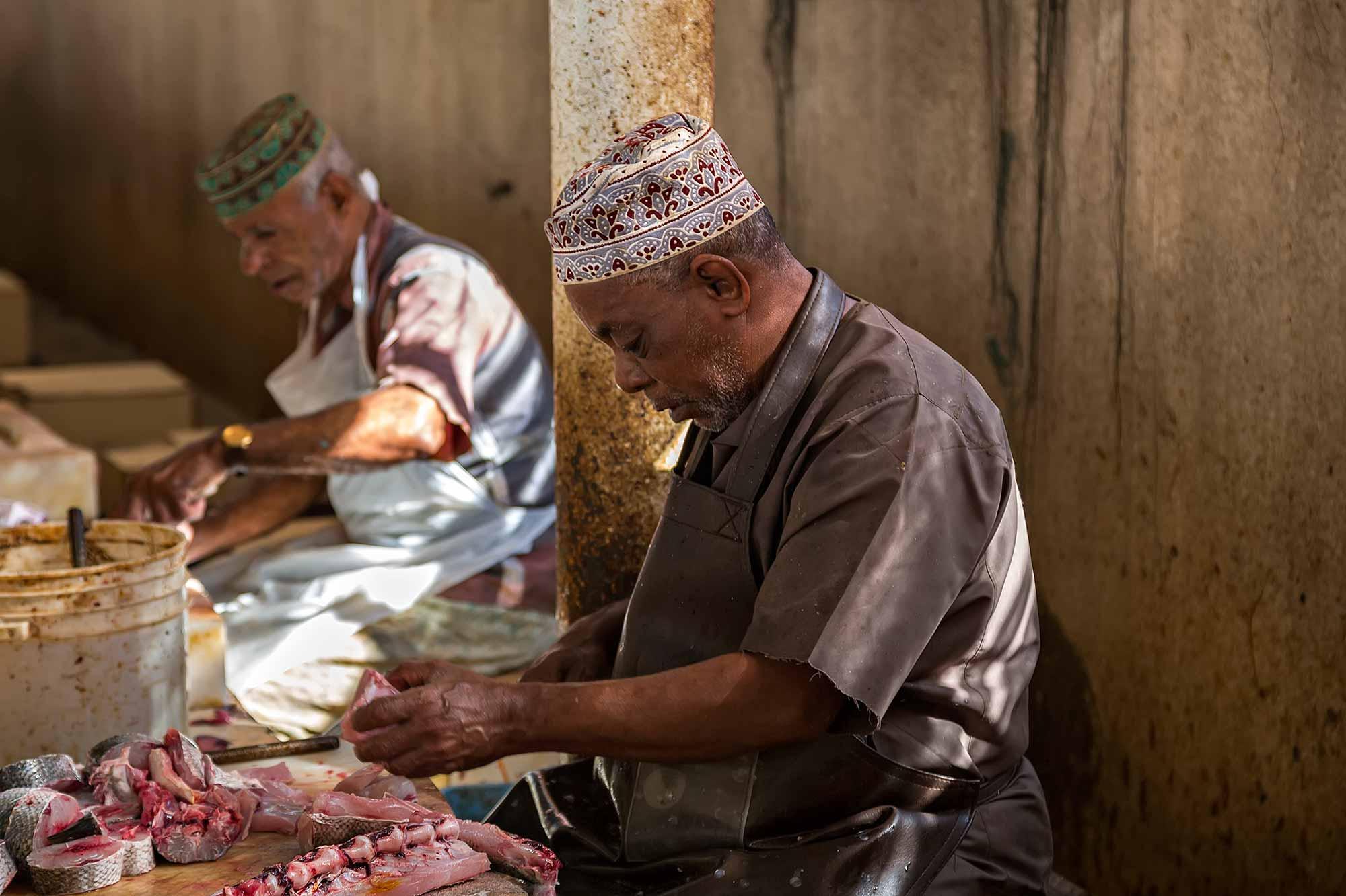 Fish market in Muscat, Oman. © Ulli Maier & Nisa Maier