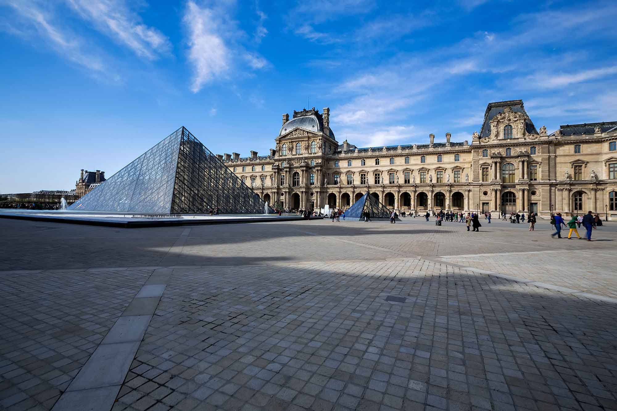 The Louvre Museum in Paris, France. © Ulli Maier & Nisa Maier