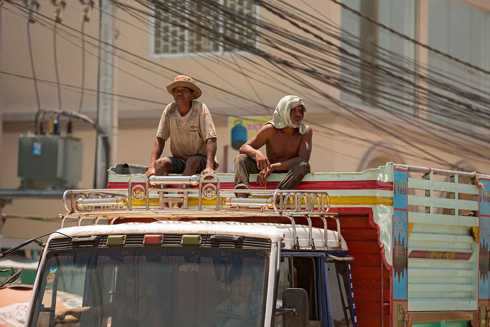 Trucking in Cambodia. © Ulli Maier & Nisa Maier