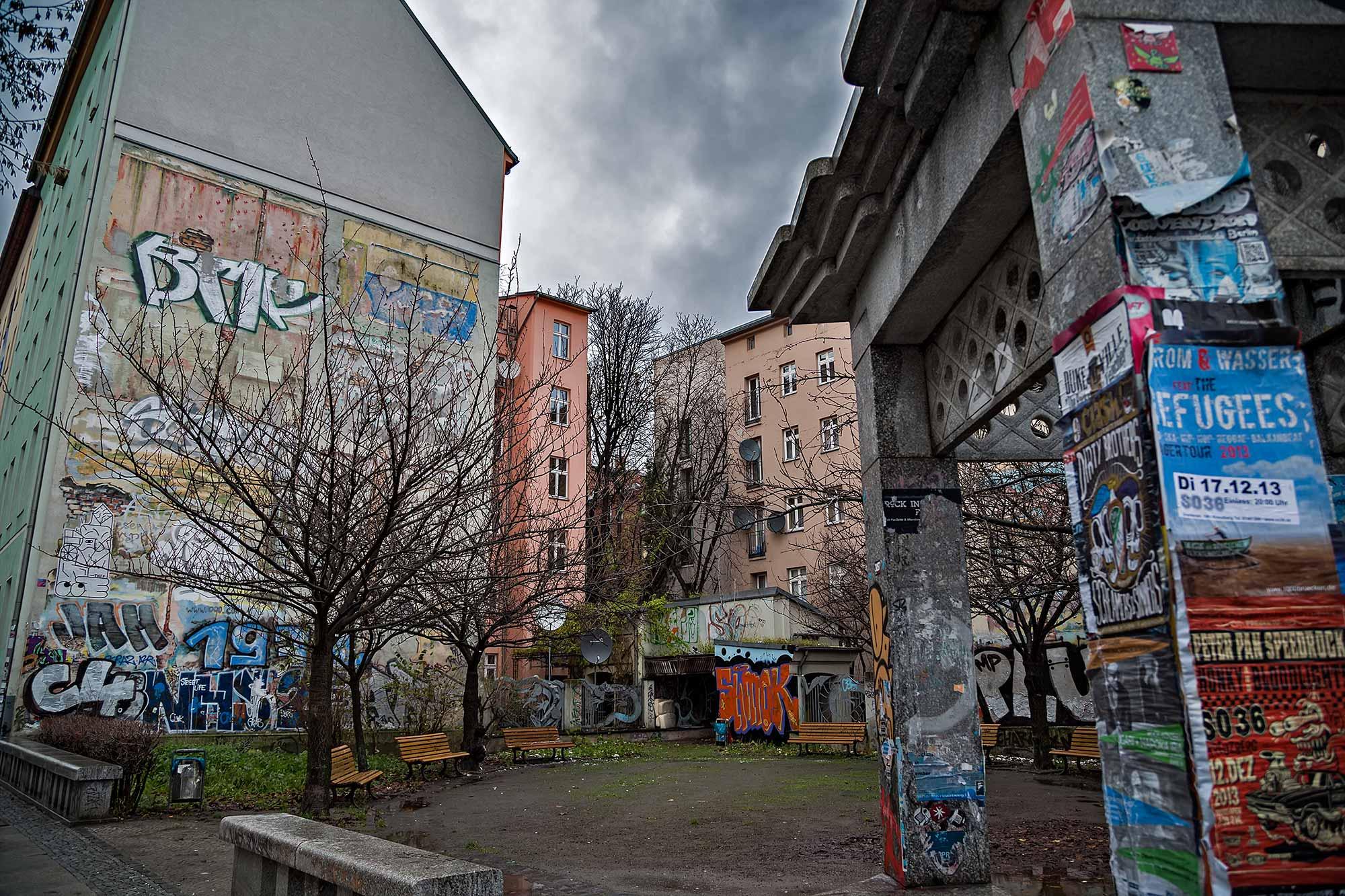 Graffiti in Kreuzberg, Berlin. © Ulli Maier & Nisa Maier