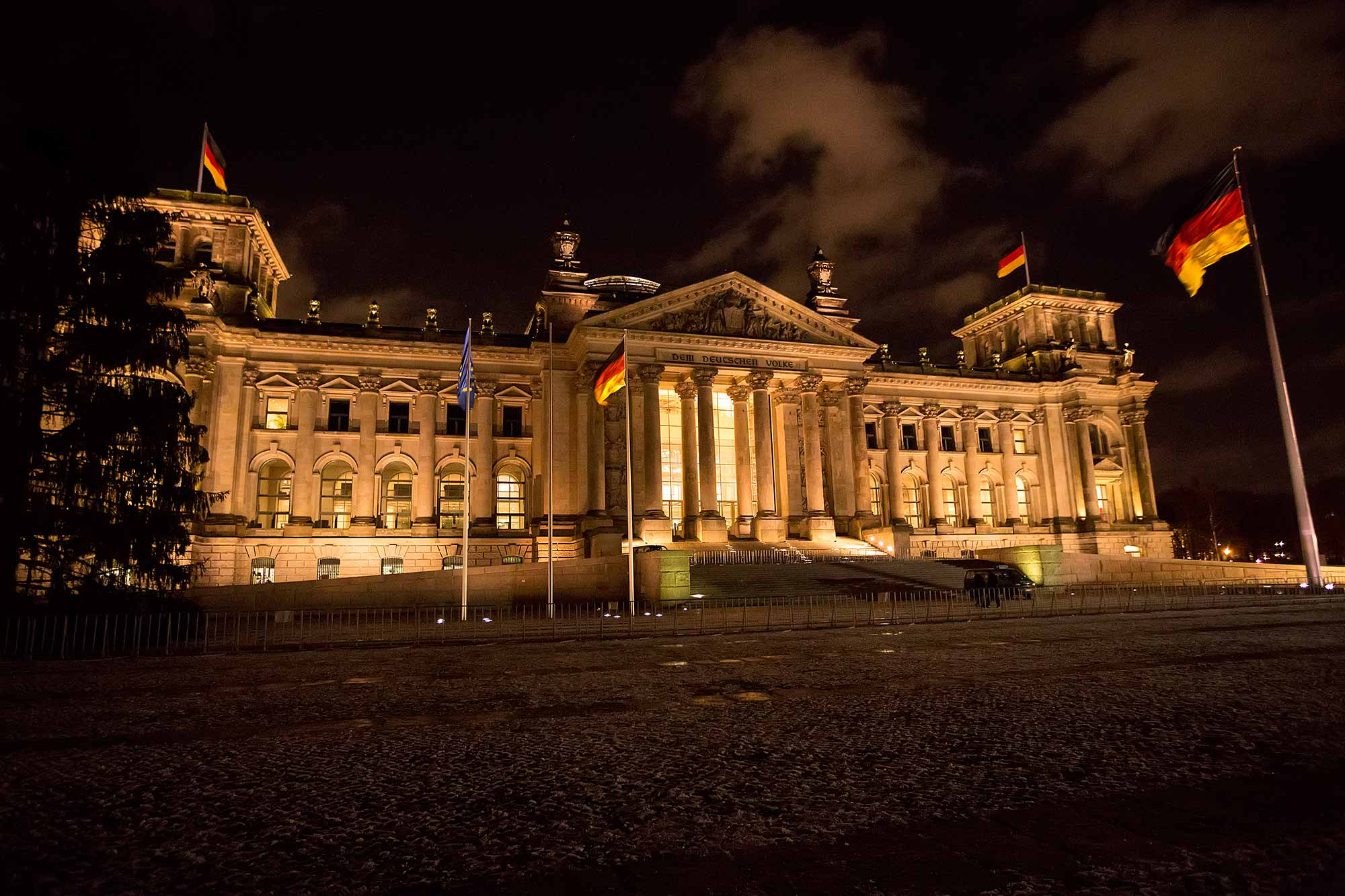 The Reichstag Building in Berlin. © Ulli Maier & Nisa Maier