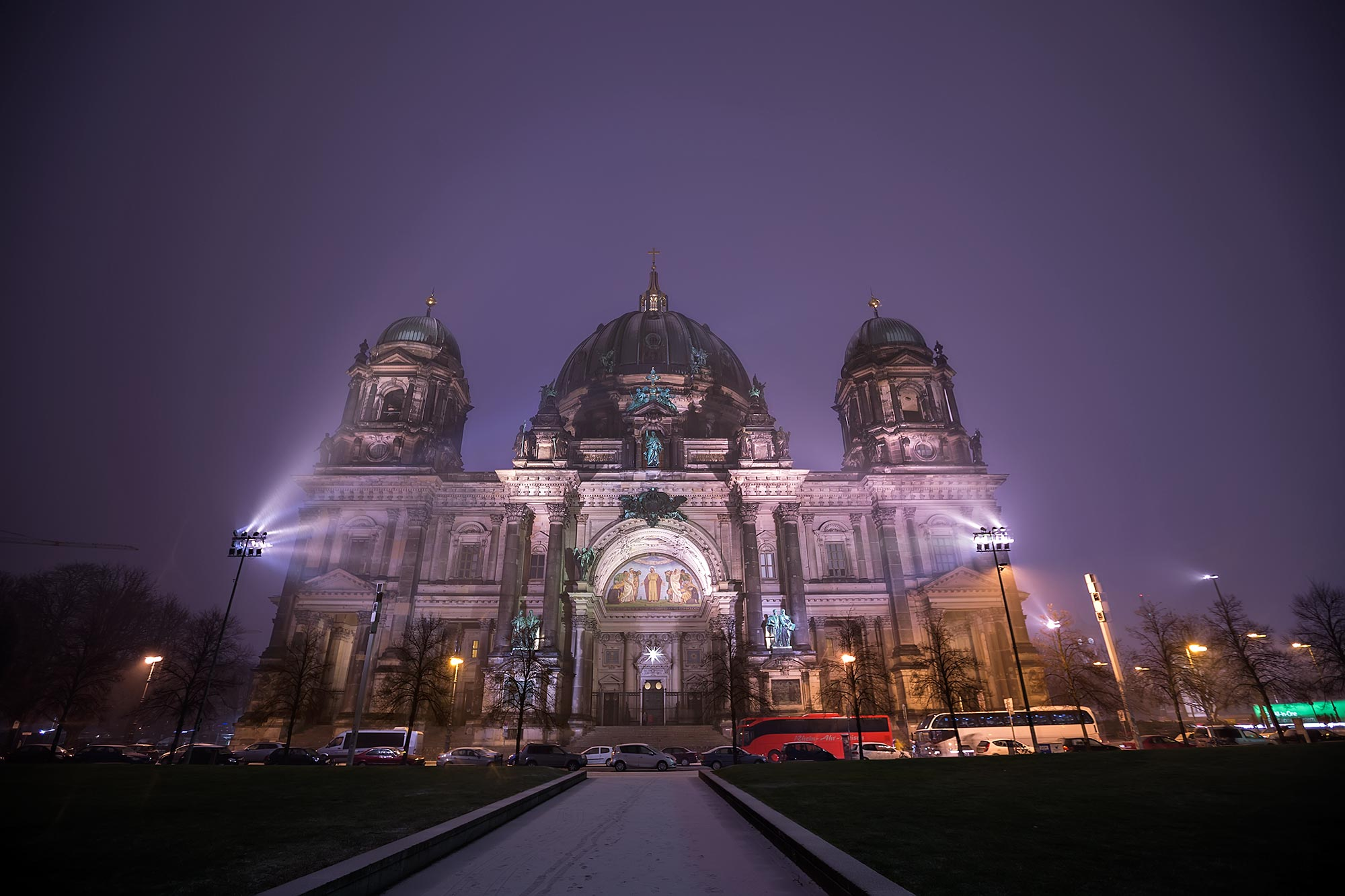 Berlin Cathedral at Night. © Ulli Maier & Nisa Maier