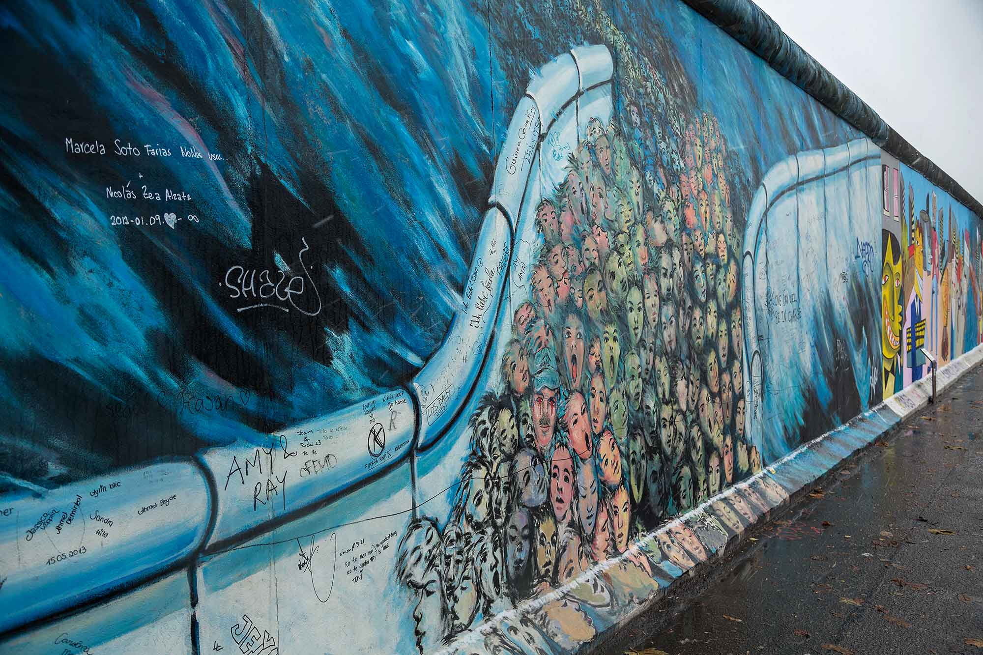 The Berlin Wall, East Side Gallery. © Ulli Maier & Nisa Maier