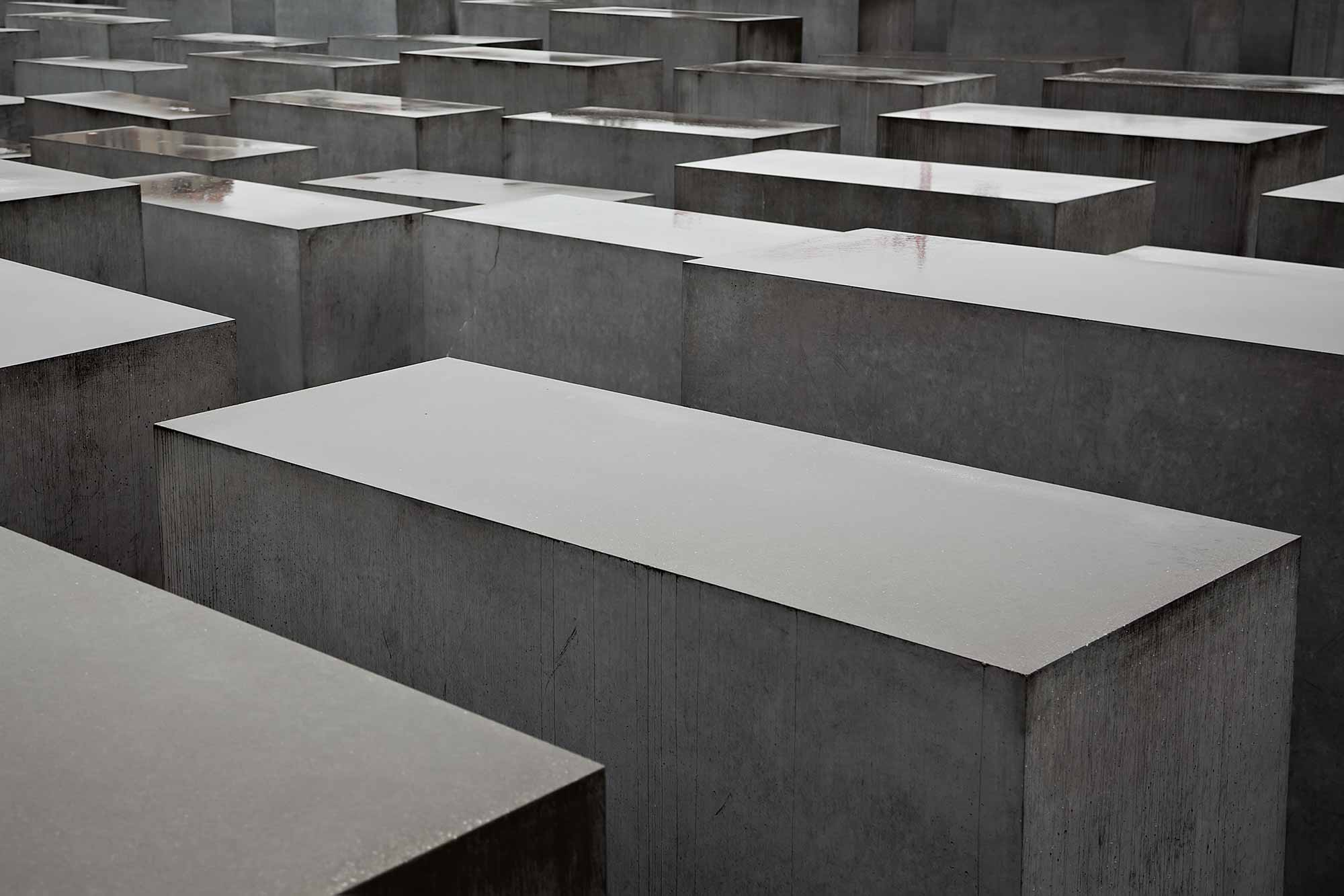 The Jewish Memorial in Berlin. © Ulli Maier & Nisa Maier