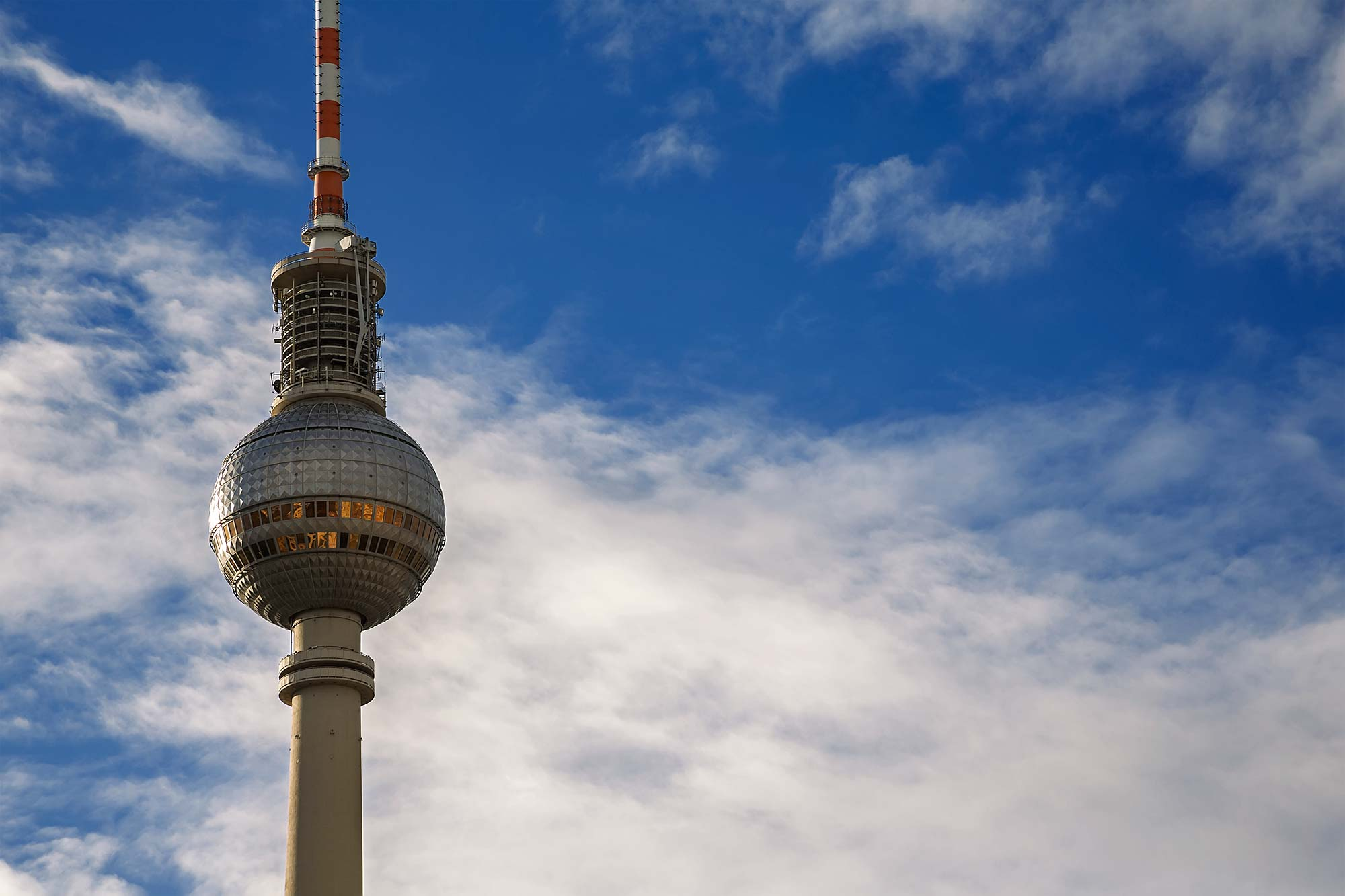The TV Tower at Alexanderplatz in Berlin. © Ulli Maier & Nisa Maier