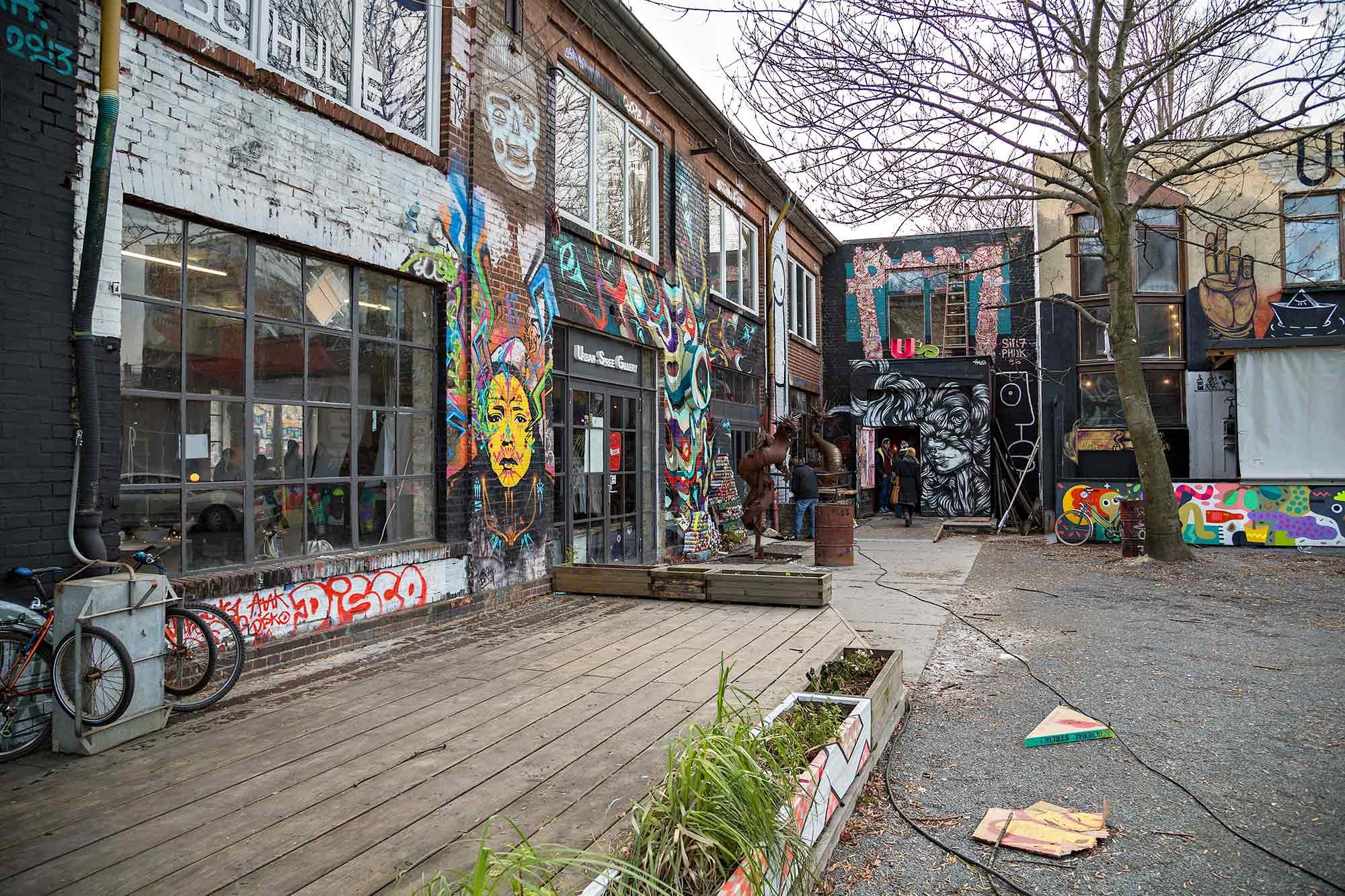 Urban Spree in Berlin-Friedrichshain. © Ulli Maier & Nisa Maier