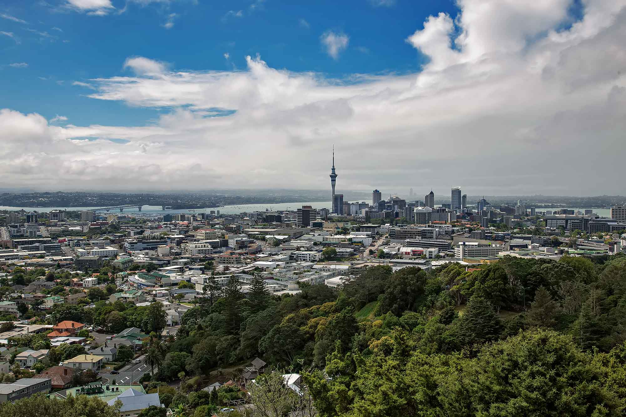 Auckland Skyline. © Ulli Maier & Nisa Maier