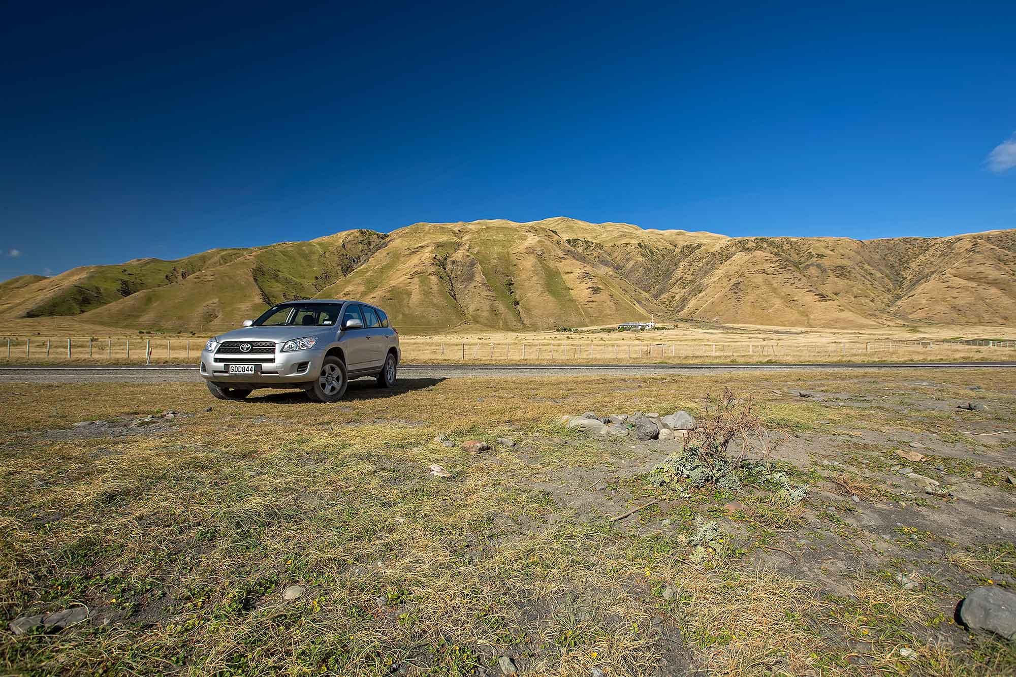 On a road trip through New Zealand. © Ulli Maier & Nisa Maier