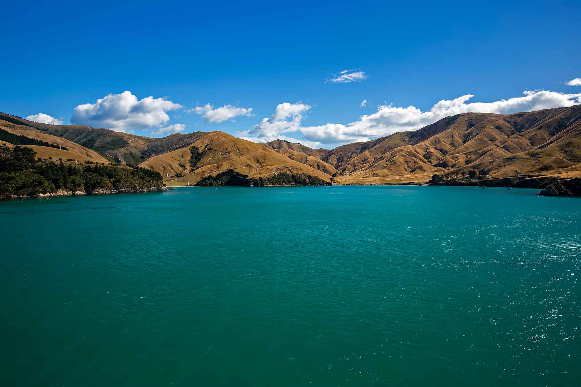 Cook Strait, New Zealand. © Ulli Maier & Nisa Maier