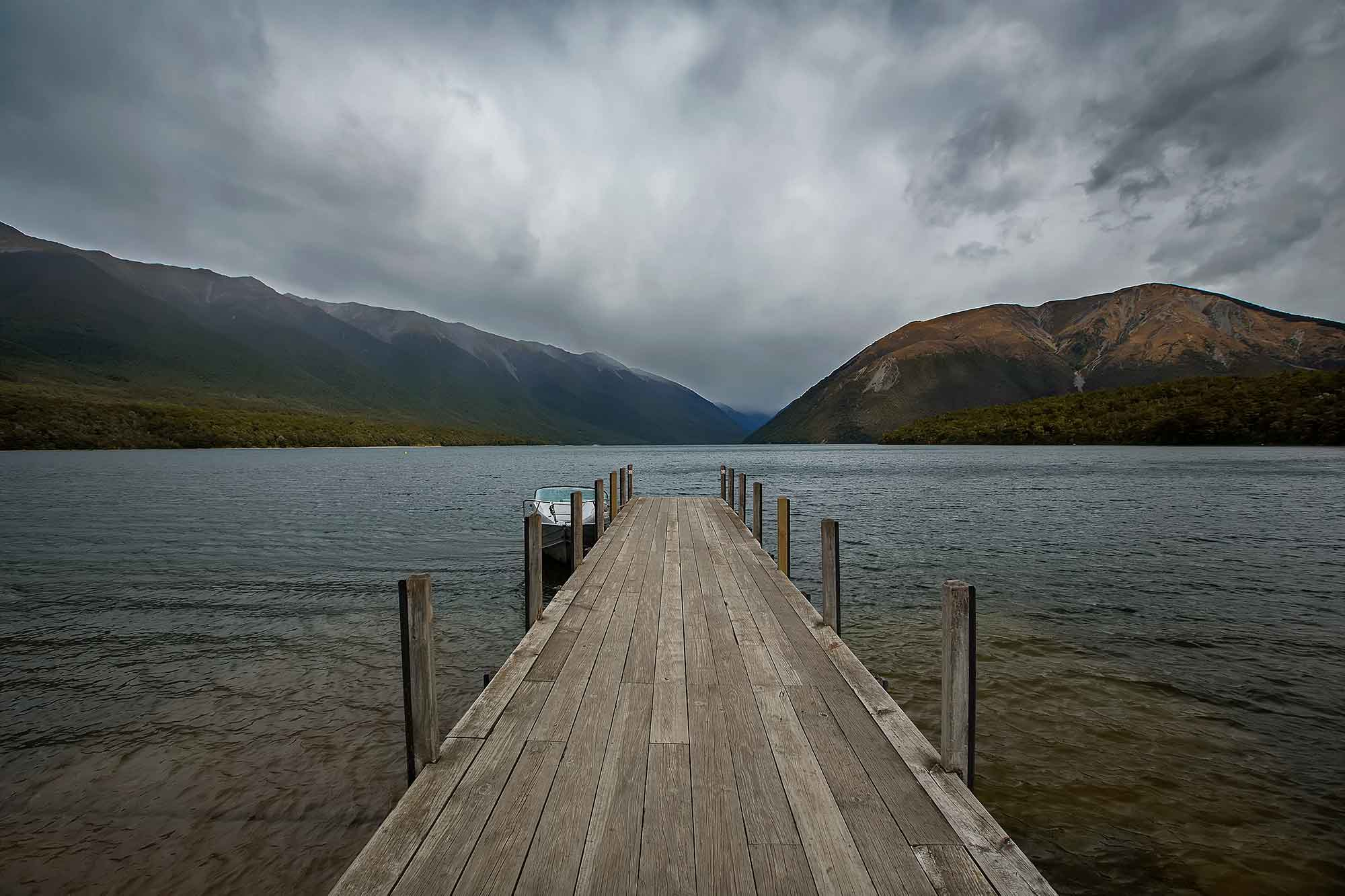 Lake Rotoiti, Nelsons Lake Park, New Zealand. © Ulli Maier & Nisa Maier