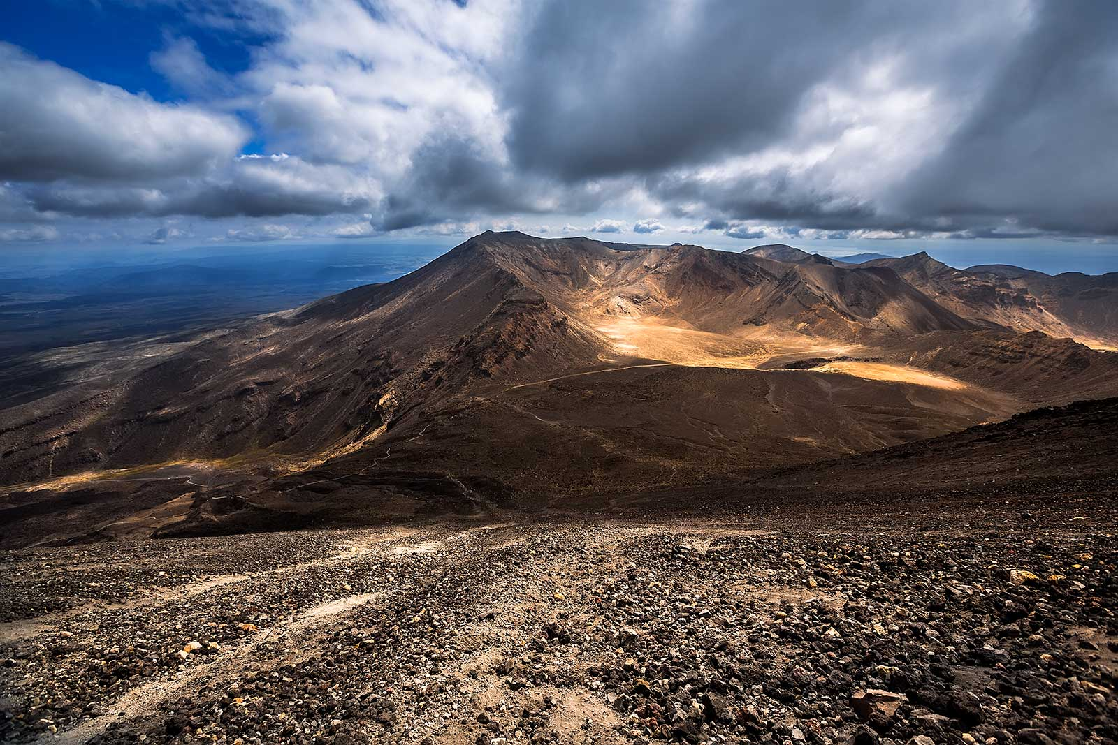 tongariro-alpine-crossing-view-from-mt-ngauruhoe-new-zealand