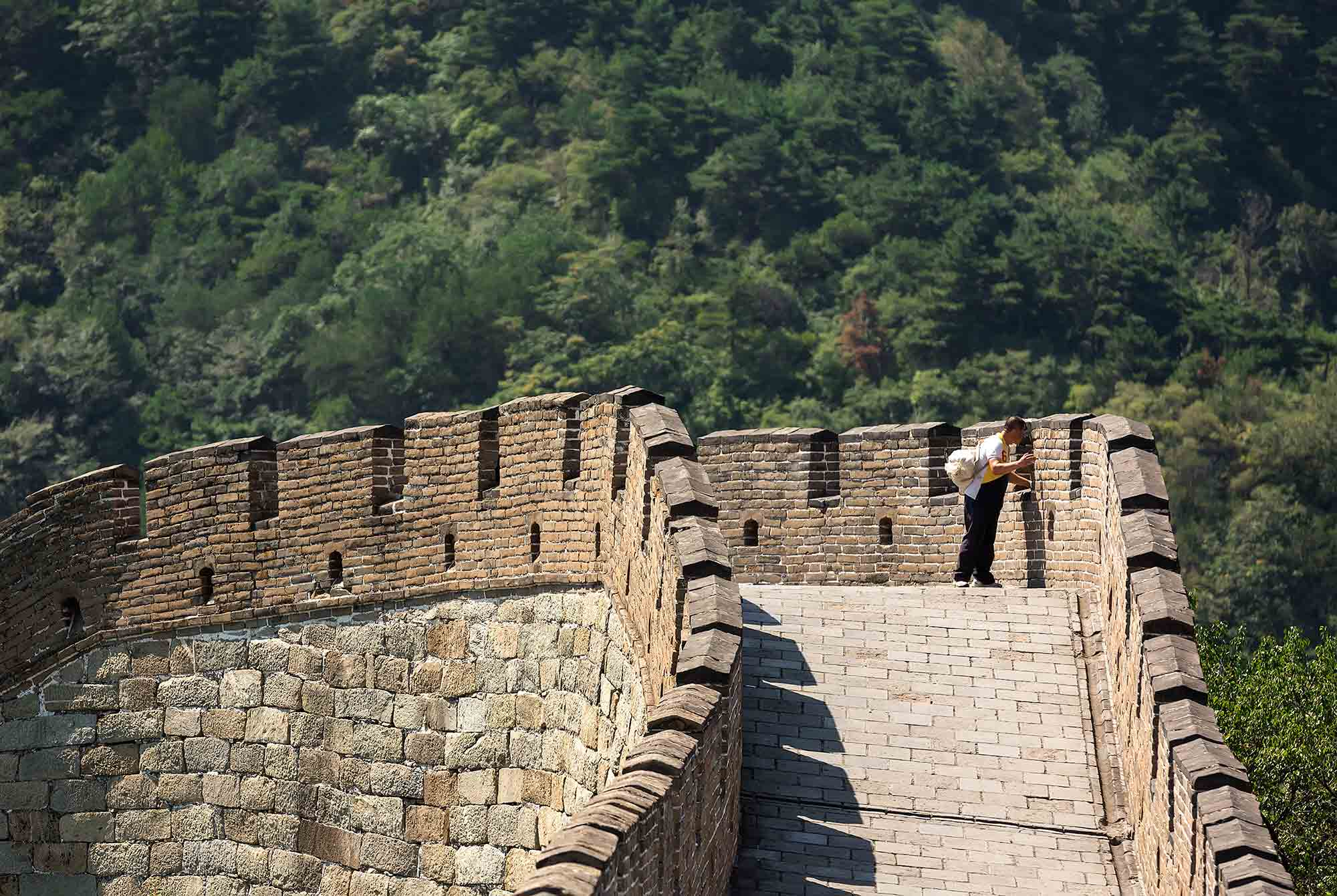 The Great Wall of China near Beijing. © Ulli Maier & Nisa Maier