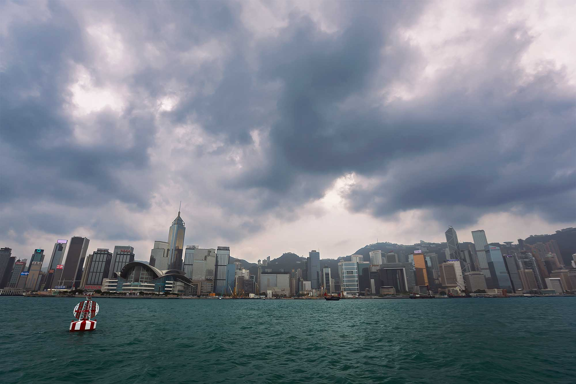 Hong Kong skyline view from the Star Ferry across Victoria Harbour. © Ulli Maier & Nisa Maier