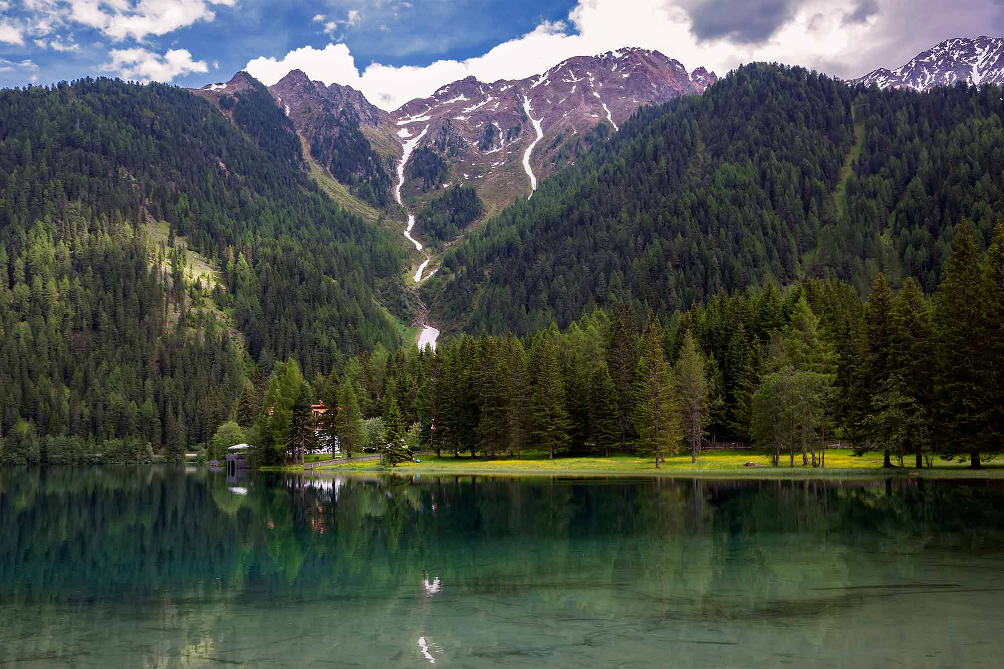 Antholzer See in South Tyrol, Italy. © Ulli Maier & Nisa Maier