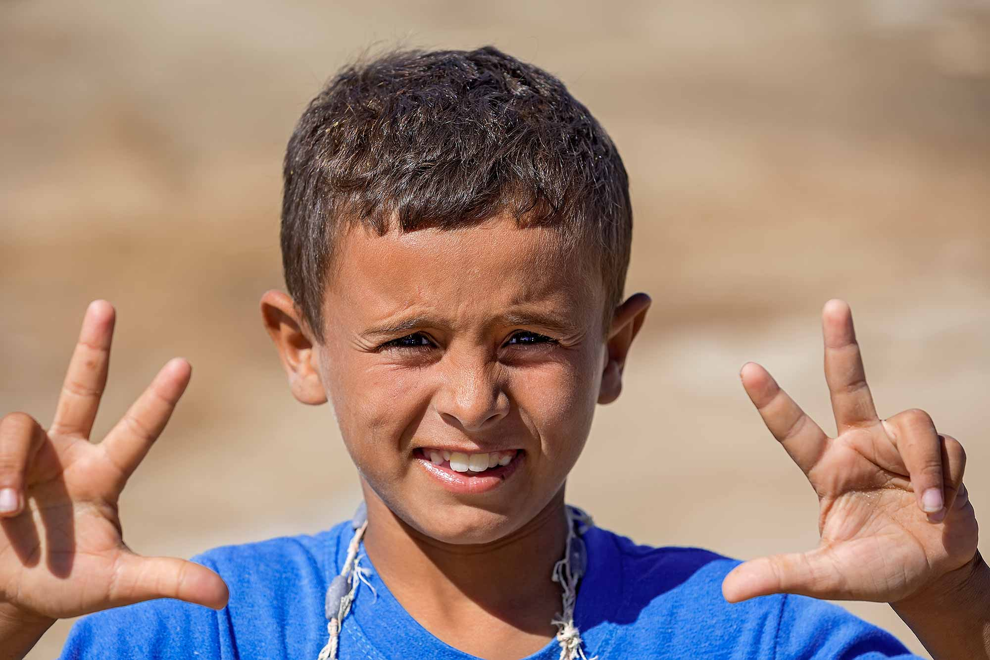 Portrait of a boy in Salalah. © Ulli Maier & Nisa Maier