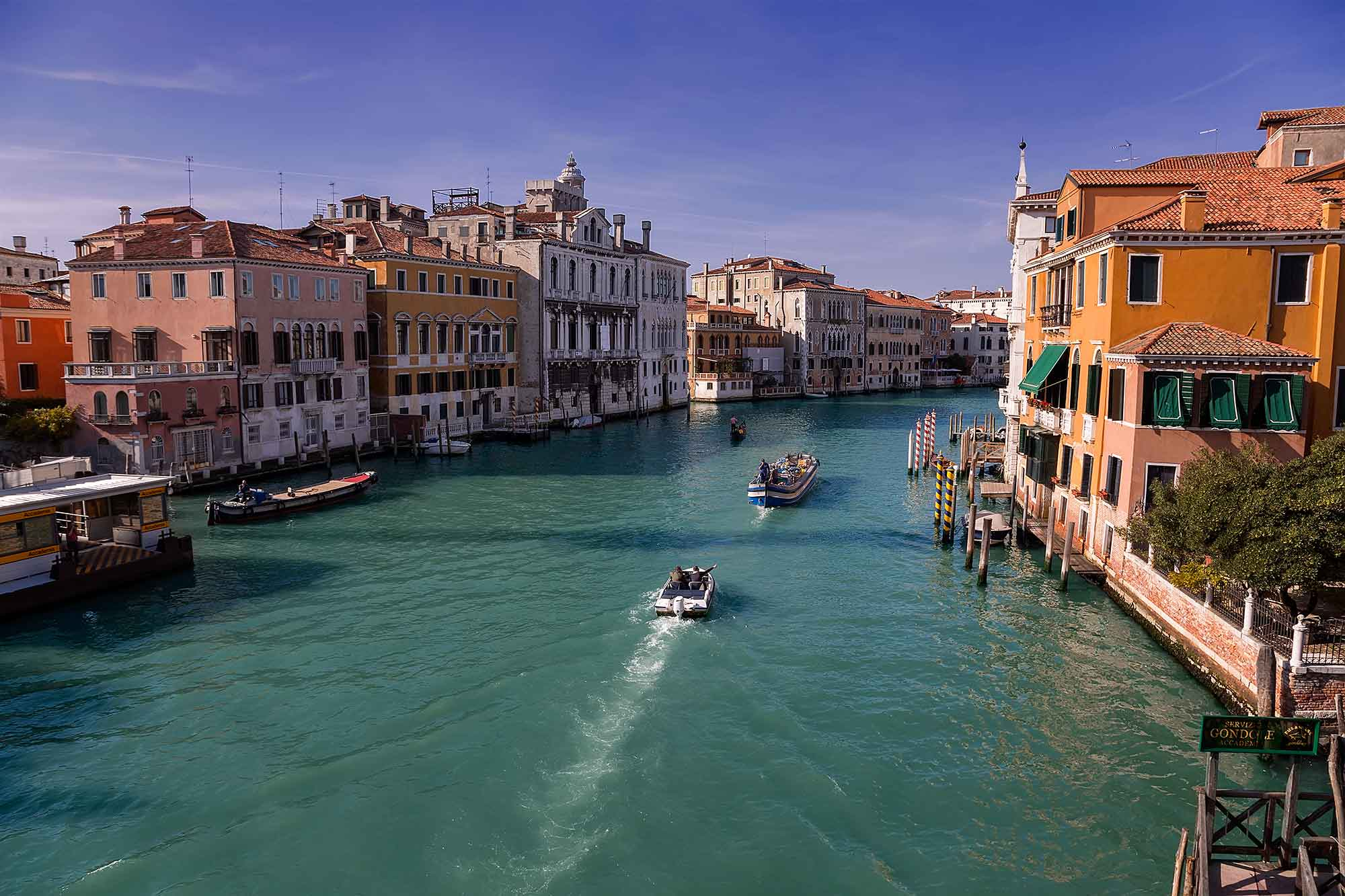 The Grand Canal in Venice, Italy. © Ulli Maier & Nisa Maier