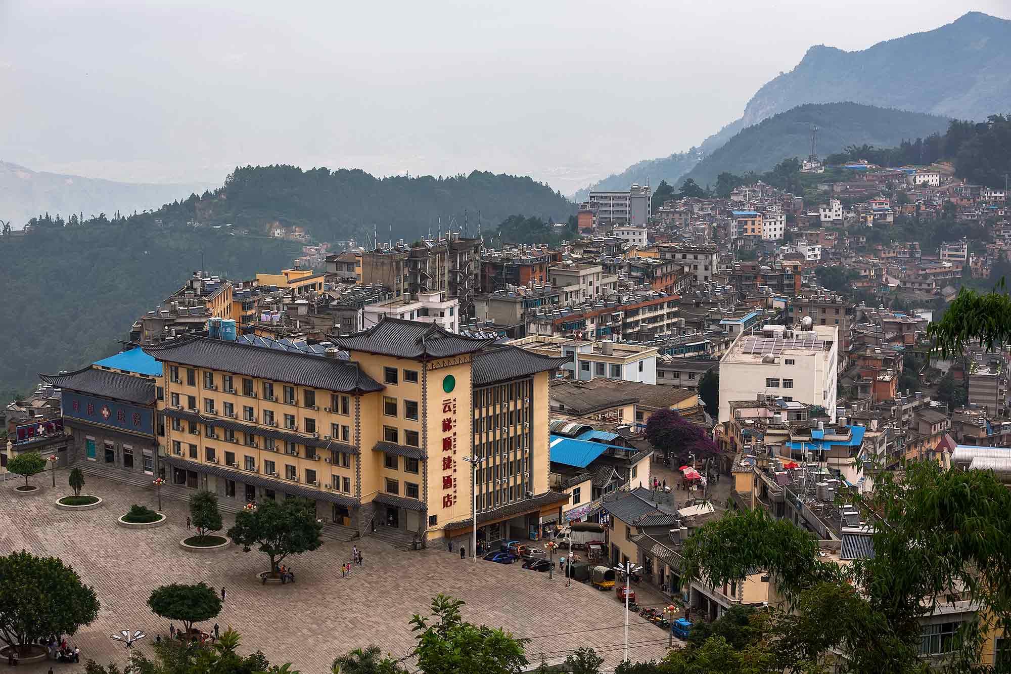 The city of Xinjie in Yunnan. © Ulli Maier & Nisa Maier