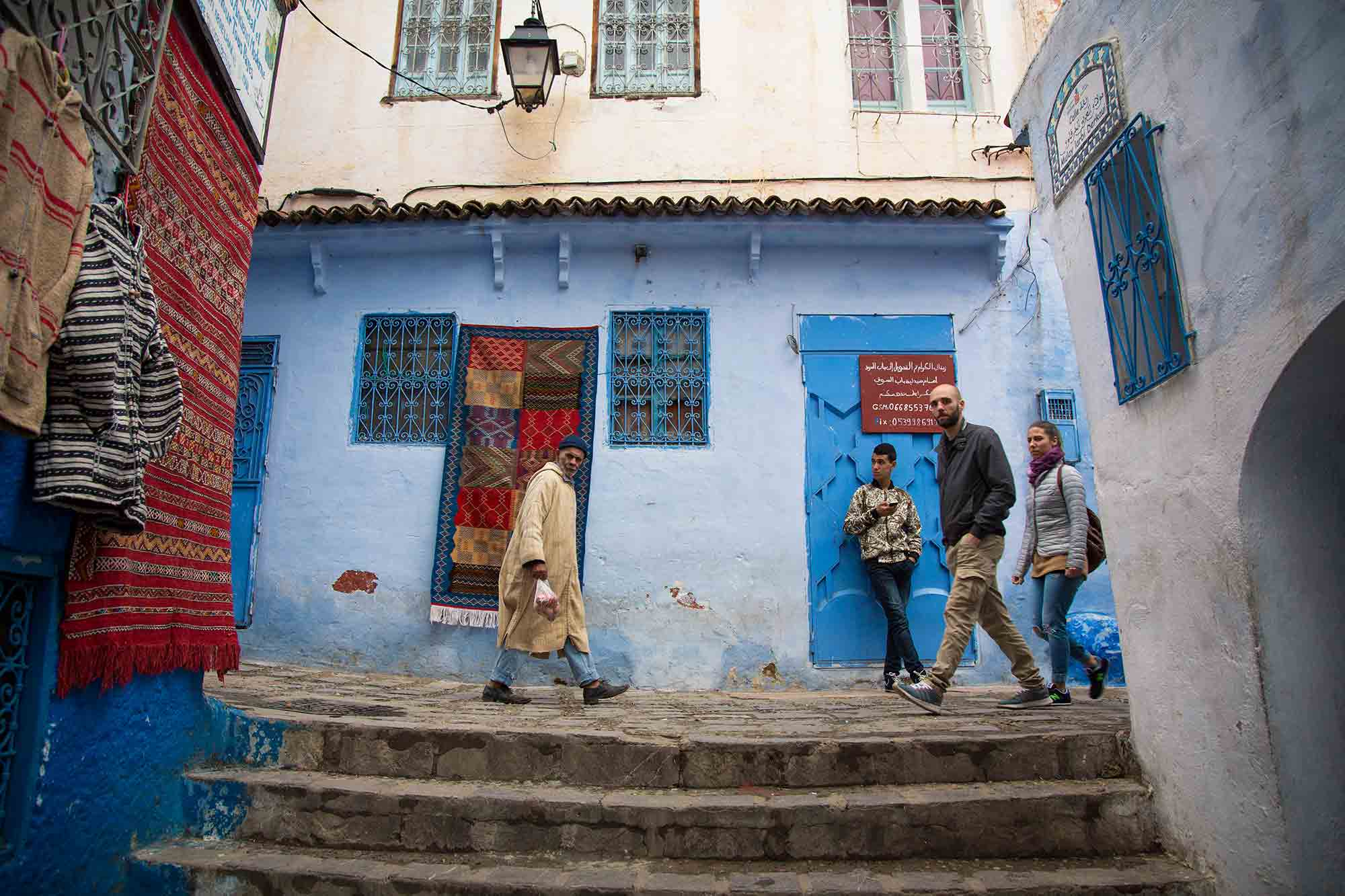Tourism has definitely increased in Chefchaouen, yet the balance between ease and authenticity is just right. © ULLI MAIER & NISA MAIER