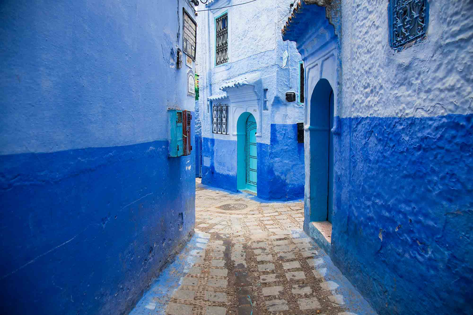 Chefchaouen is an artsy, blue-washed mountain village that feels like its own world. © ULLI MAIER & NISA MAIER