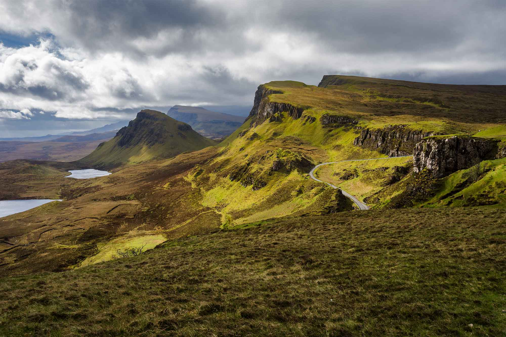 The Quiraing is an essential walk for any photographer as it passes though some of the most spectacular landscapes in Scotland. © ULLI MAIER & NISA MAIER