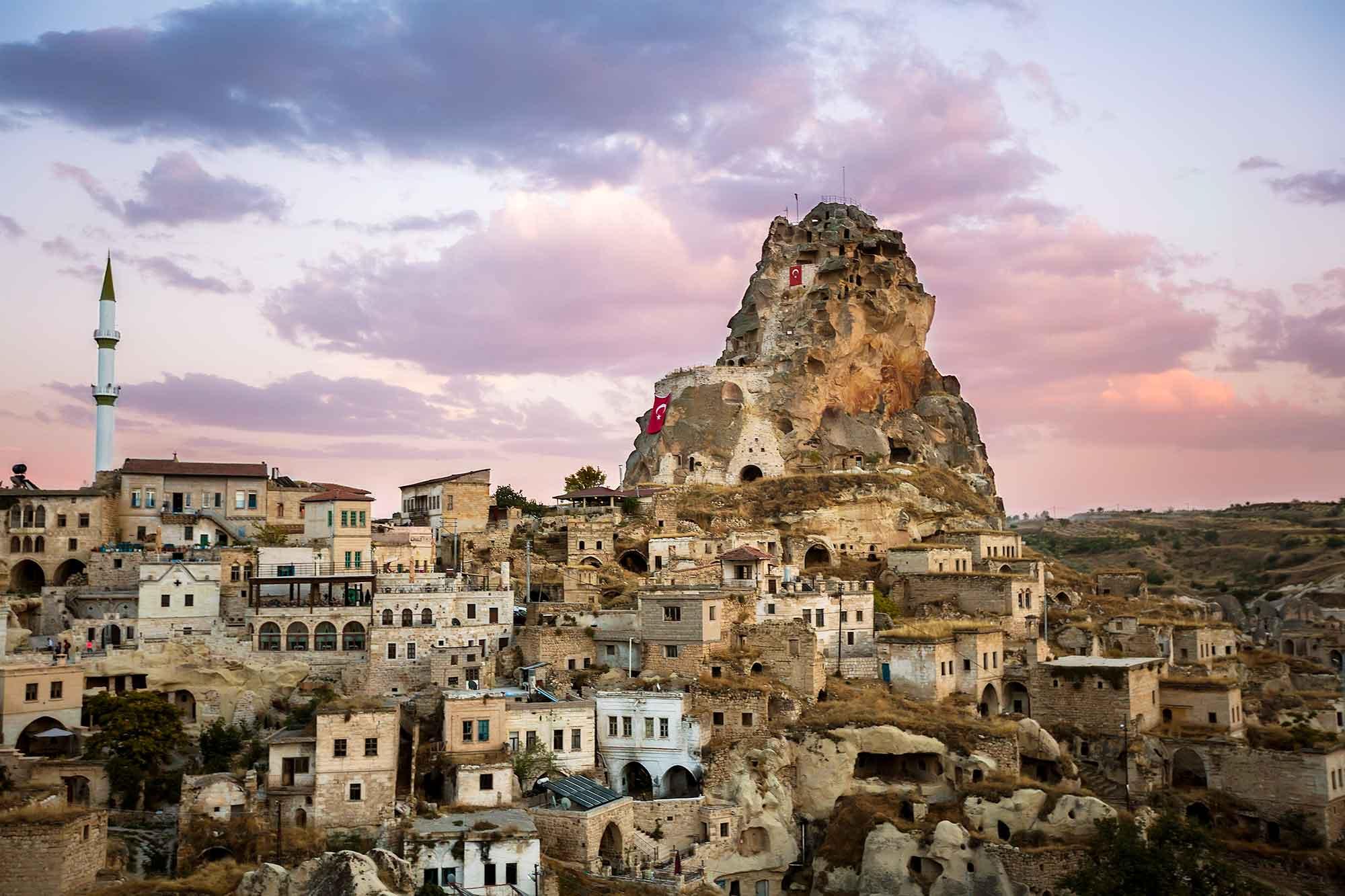 ortahisar-cappadocia-sunset-turkey