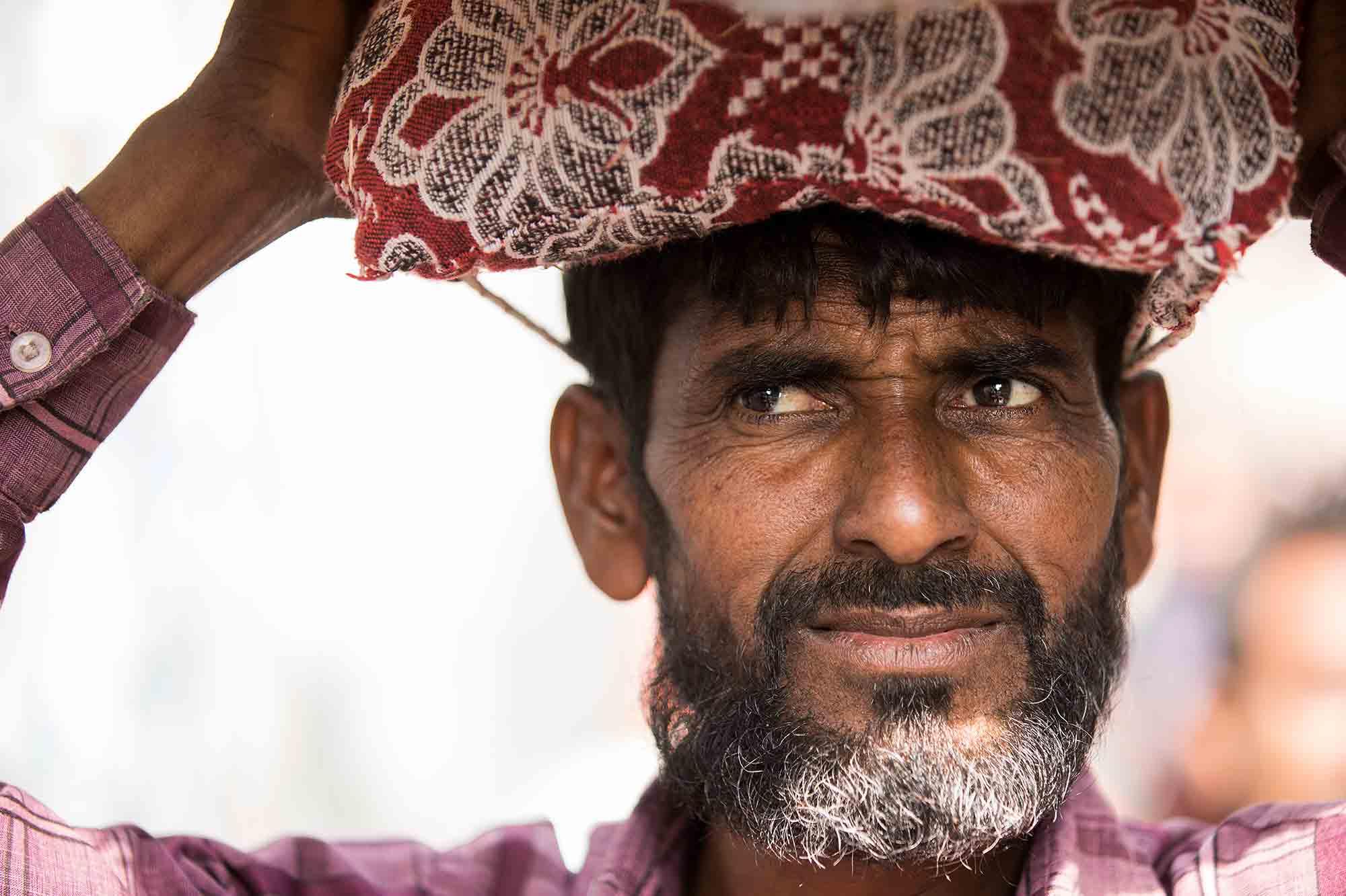 Koley-Market-kolkata-portrait-india
