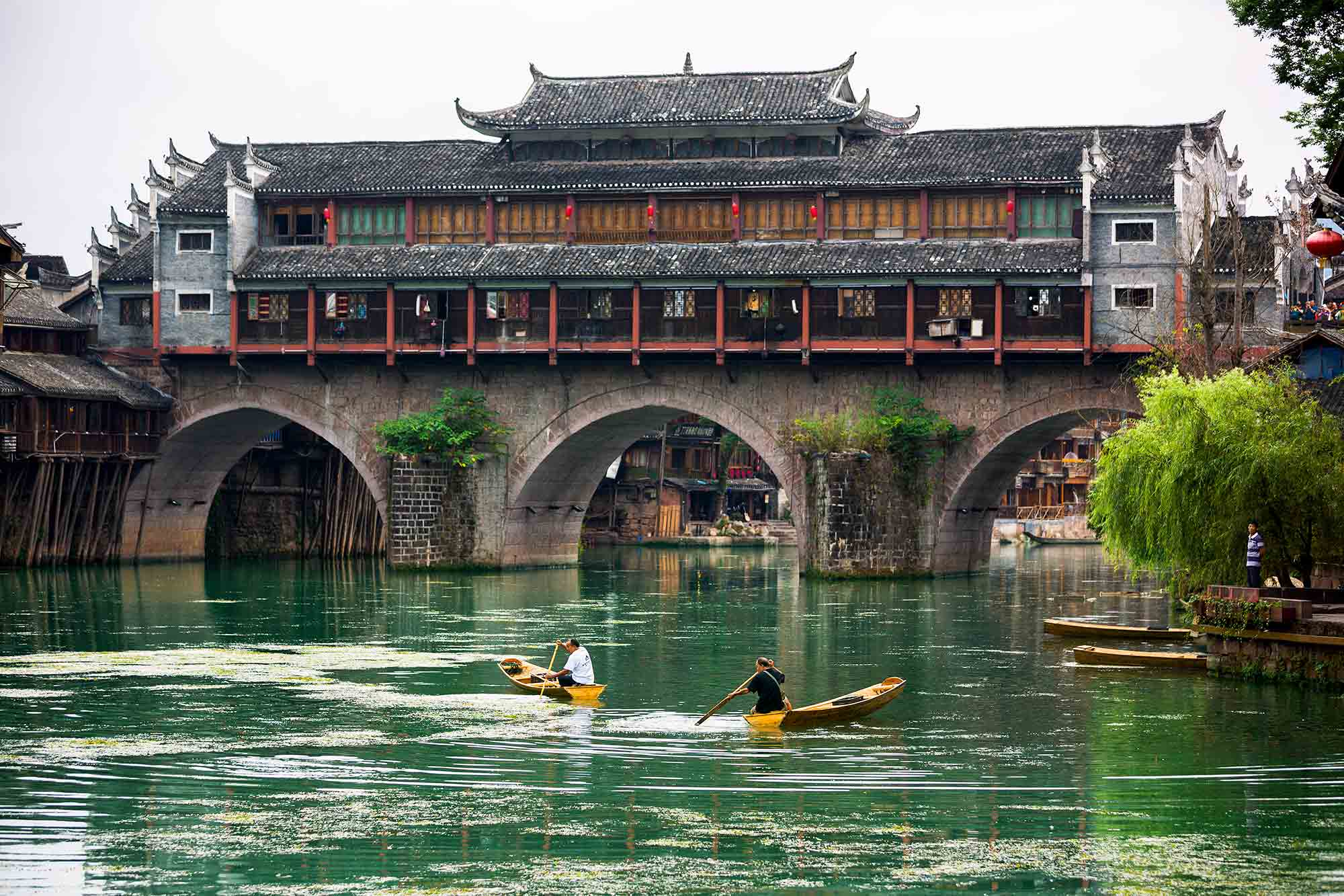 Beautiful Fenghuang town in China. © ULLI MAIER & NISA MAIER