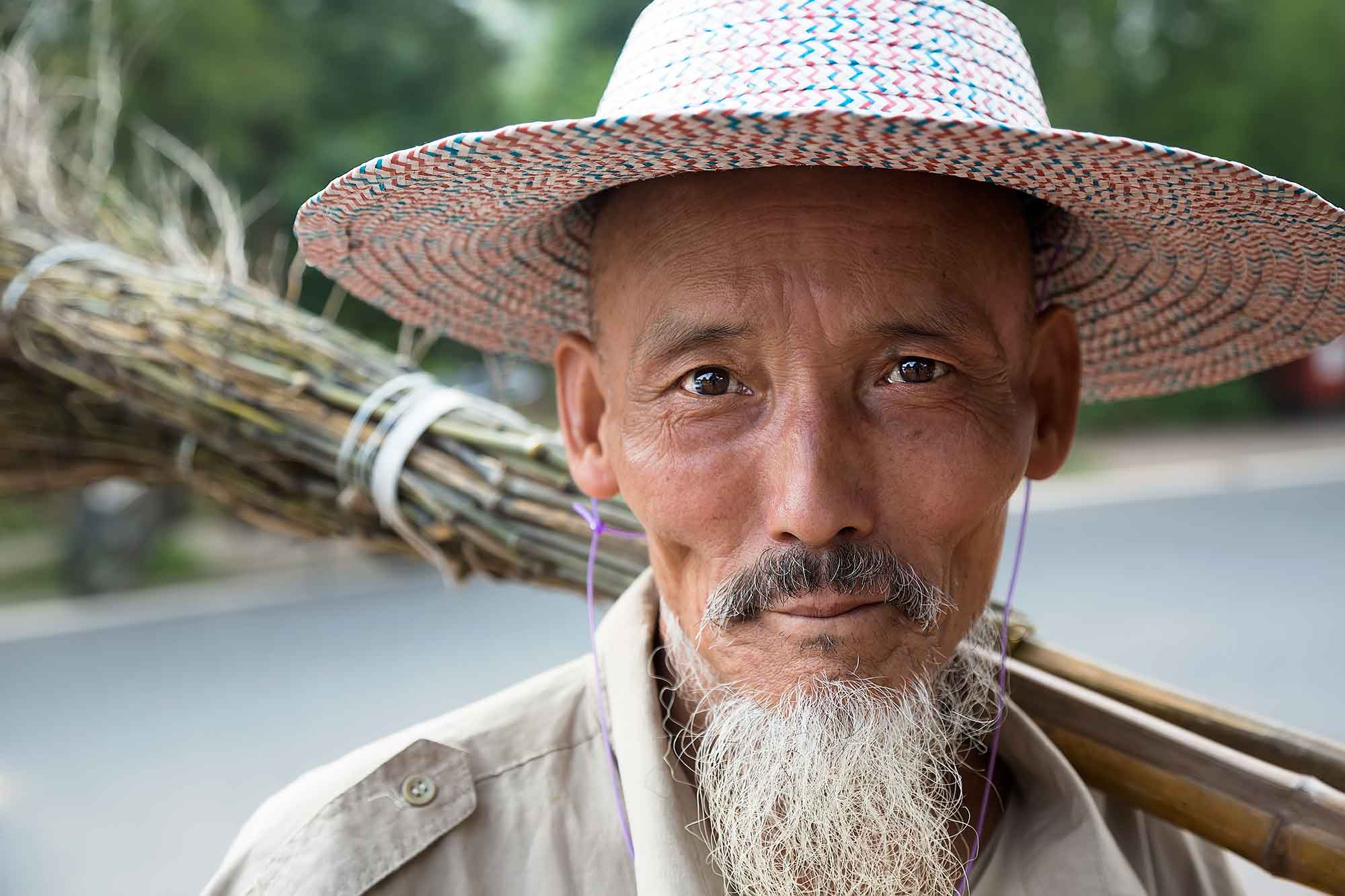 Luobiao is a destination not many tourists (neither Western nor Chinese) come to very often. Therefore it was one of those great travel experiences where we got to intimately interact with its local people. © ULLI MAIER & NISA MAIER